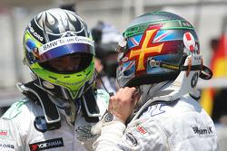 Augusto Farfus, BMW Team Germany et Andy Priaulx, BMW Team UK