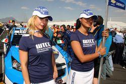 Les «grid girls» de Nicola Larini, Chevrolet