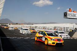 Yvan Muller, Seat Sport, Seat Leon 2.0 TDI, au départ