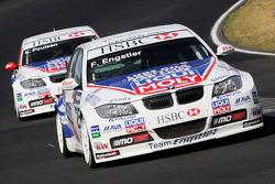 Franz Engstler, Liqui Moly Team Engstler, BMW 320si et Kristian Poulsen, Liqui Moly Team Engstler, BMW 320si