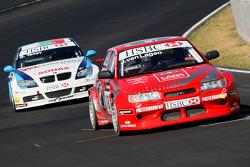 Jaap van Lagen, Lada Sport, Lada 110 2.0 et George Tanev, Scuderia Proteam Motorsport, BMW 320si