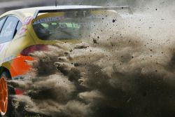 Gabriele Tarquini, Seat Sport, Seat Leon 2.0 TDI off the track, gravel