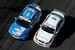Robert Huff, Chevrolet, Chevrolet Cruze and Jorg Muller, BMW Team Germany, BMW 320si