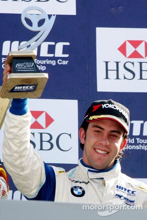 Felix Porteiro, Scuderia Proteam Motorsport on the podium