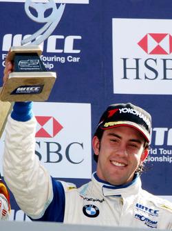 Félix Porteiro, Scuderia Proteam Motorsport sur le podium