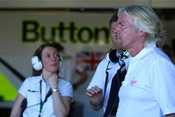 Sir Richard Branson, CEO du groupe Virgin