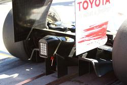 Diffuseur de la Toyota TF109