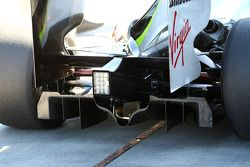 Diffuser of the Brawn GP, BGP001, BGP 001