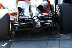 Diffuseur de la McLaren Mercedes MP4-24