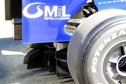 Diffuser de la Williams FW31