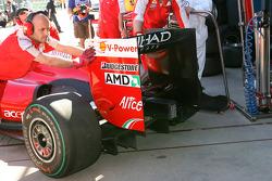 Diffuser de la Ferrari F60