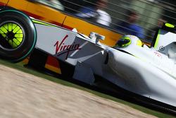 Rubens Barrichello, Brawn GP, sponsorisé par Virgin