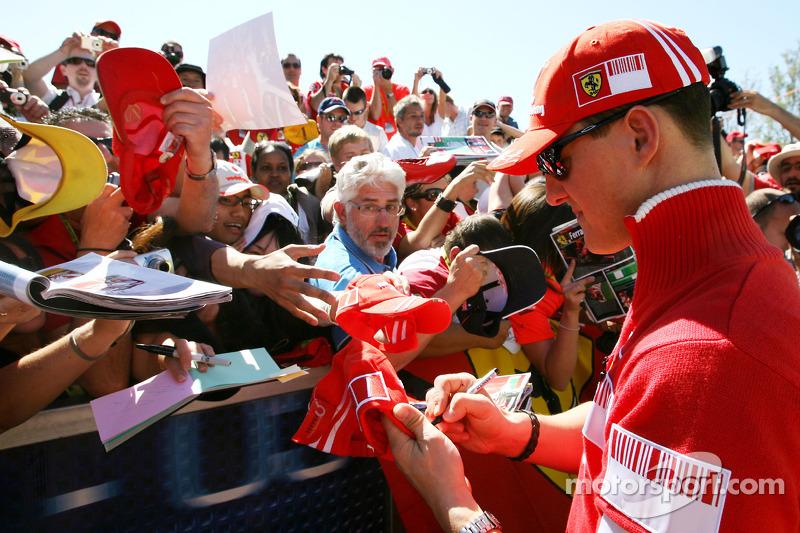Michael Schumacher, Scuderia Ferrari, Testfahrer