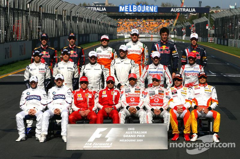 Clase 2009 Fórmula 1