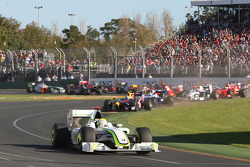 Start: Jenson Button, Brawn GP