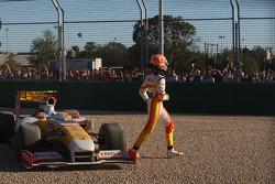Nelson A. Piquet, Renault F1 Team abandonne