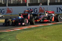 Sébastien Buemi, Scuderia Toro Rosso devance Lewis Hamilton, McLaren Mercedes