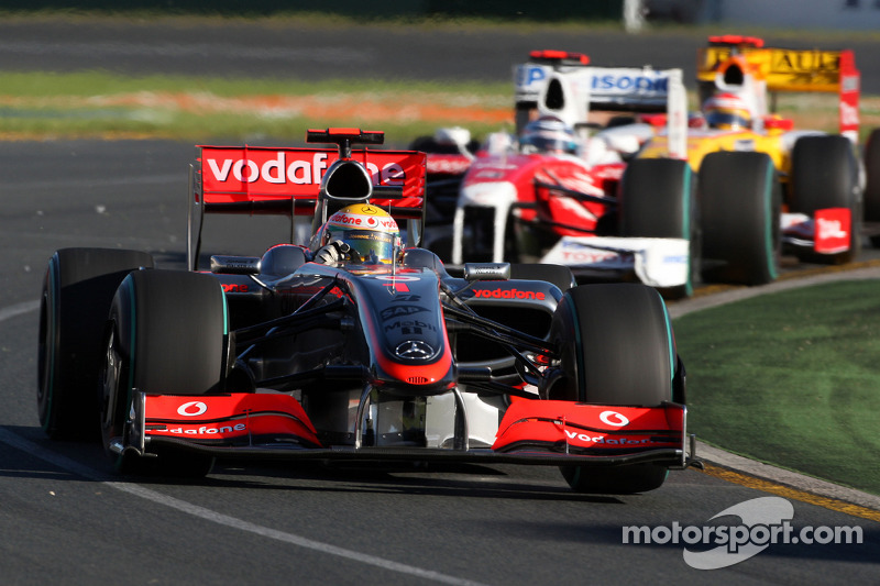 マクラーレンMP4-24・メルセデス(ルイス・ハミルトン/2009年オーストラリアGP)