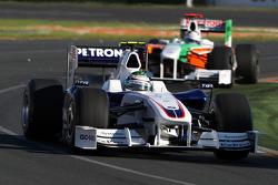 Nick Heidfeld, BMW Sauber F1 Team, F1.09; Adrian Sutil, Force India F1 Team