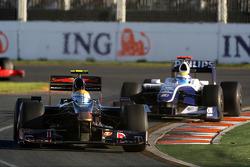 Sebastien Buemi, Scuderia Toro Rosso, Nico Rosberg, Williams F1 Team, FW31