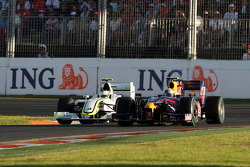 Rubens Barrichello, Brawn GP, Sebastian Vettel, Red Bull Racing, RB5