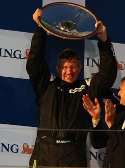 Podium : Ross Brawn, directeur général de Brawn Grand Prix