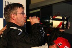 Podium: Ross Brawn Brawn GP Team Principal