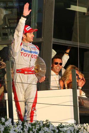 Podium: third place Jarno Trulli, Toyota Racing
