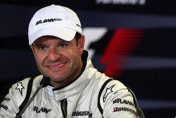 Post-race press conference: second place Rubens Barrichello, Brawn GP