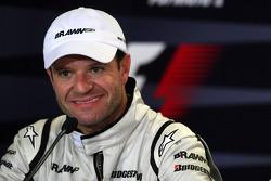 Conférence de presse d'après-course : le deuxième Rubens Barrichello, Brawn GP
