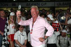 John Button, father of Jenson Button, Brawn GP
