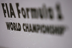 Logo Fórmula 1 World Championship