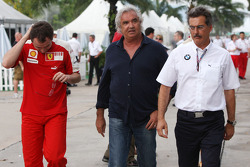 Stefano Domenicali, Scuderia Ferrari Direktörü, Flavio Briatore, Renault F1 Team, Takım Şefi, Direkt