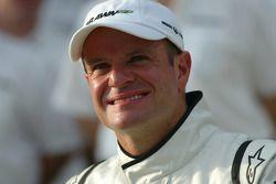 Brawn GP group picture, Ruben Barrichello, Brawn GP