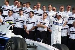 BMW Team photograph, Nick Heidfeld, BMW Sauber F1 Team