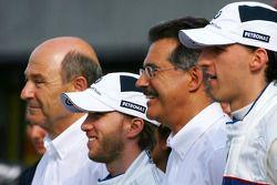 Peter Sauber, BMW Sauber F1 Team, Team Advisor, Nick Heidfeld, BMW Sauber F1 Team, Dr. Mario Theisse