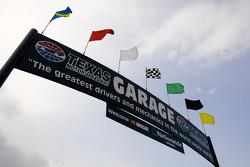 Texas Motor Speedway garage area
