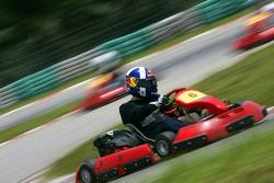 F1 Fun Kart Challenge: Martin Brundle, BBC