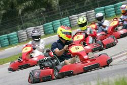 F1 Fun Kart Challenge: Roldan Rodriguez