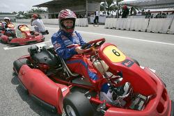 F1 Fun Kart Challenge: Deborah Lyall Team Arden