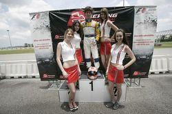 F1 Fun Kart Challenge: Javier Villa on the podium