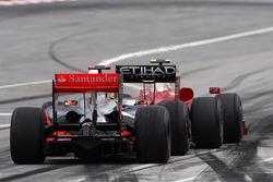 Льюис Хэмилтон, McLaren Mercedes и Кими Райкконен, Scuderia Ferrari