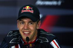 Пресс-конференция FIA: Себастьян Феттель, Red Bull Racing