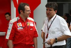 Stefano Domenicali, Scuderia Ferrari, Direktör, Pasquale Lattuneddu, FOM, Formula 1 Management
