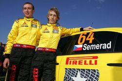 Martin Semerad et Bohuslav Ceplecha (Mitsubishi Evo X)