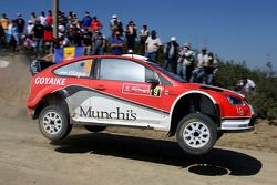 Federico Villagra et Jorge Perez Companc, Ford Focus RS WRC08