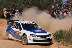 Marcus Gronholm et Timo Rautianen, Subaru Impreza WRC 08