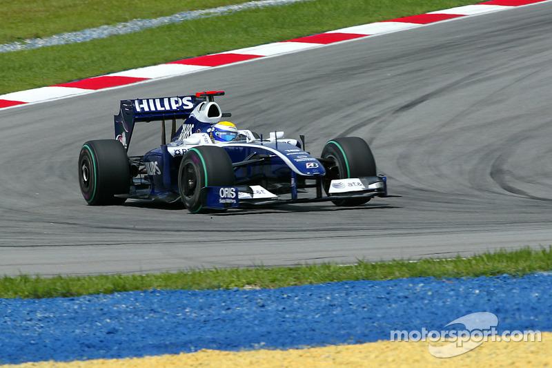Nico Rosberg – 27 GPs (Canadá 2008 a Japão 2009)