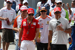 Джанкарло Физикелла, Force India F1 Team, Фелипе Масса, Scuderia Ferrari, Фернандо Алонсо, Renault F
