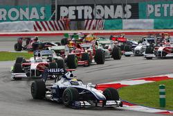 Start: Nico Rosberg, Williams ve field